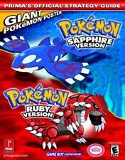 Pokemon Ruby & Sapphire (Prima's Official Strategy Guide), Strategy Guides, Vide