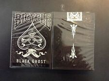 carte à jouer Bicycle black ghost legacy edition  ellusionist