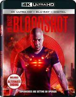 Bloodshot [New 4K UHD Blu-ray] With Blu-Ray, 4K Mastering, Digital Cop