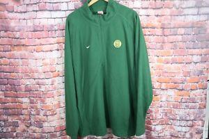 Vtg Nike Portland Timbers Fleece 1//2 Zip Pullover Pre MLS USL Green Size XXL