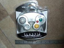 GAMECUBE CLASSIC CONTROLLER GAMEPAD GAME PAD BRAND NEW Silver Nintendo Wii Retro