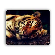 Tiger Laying Down Computer Mouse Pad Mat