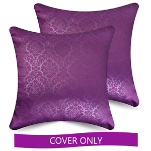 Square Decorative Throw Pillow Covers, 2 pack, 18x18/20x20 inch by Ample Decor