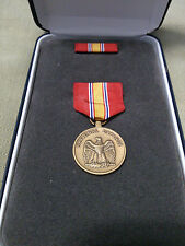 National Defense Service Medal Set in Presentation Case with ribbon