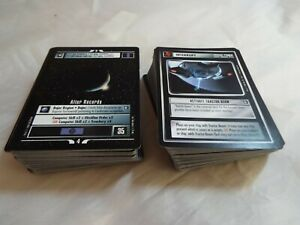 STAR TREK CCG DEEP SPACE NINE / DS9 SET OF 160 COMMON AND UNCOMMON CARDS