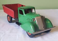 All Metal Products Plymouth Cab WYANDOTTE TOYS DUMP TRUCK V RARE 30's ORIGINAL