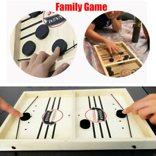 Fast Sling Puck Game Paced SlingPuck Winner Board Family Games Toys Juego Child
