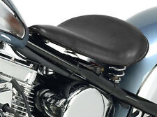 "ULTIMA SOLO SEAT 13"" BLACK LEATHER HARLEY SOFTAIL CUSTOM CHOPPER SPORTSTER"