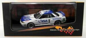 Ixo 1/43 Scale - MGPC004 Nissan Skyline GT-R R32 4th 1991 Macau Guia Race