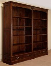 Doppel BÜCHERSCHRANK Bücherregal vom Hersteller Bibliothek mahagoni massiv 78270