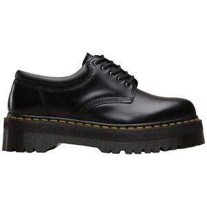 Dr.Martens Unisex Schuhe 8053 Quad Damen Herren Platform Leder