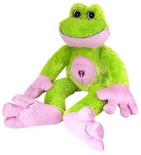 Frog Green 11 13/16in Sweet & Sassy Stuffed Animal Toy Wild Republic 12403