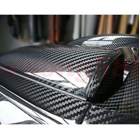 3D 4D Matte / 5D 6D High Gloss Car Carbon Fiber Wrap Vinyl Decal Film Sticker