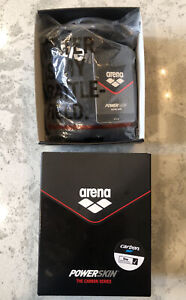 Arena Powerskin ST 2.0 Women's Open Back Black Racing Swimsuit (Size 26) - NEW