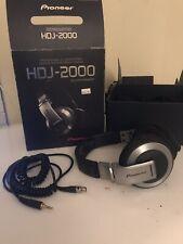 Pioneer - HDJ-2000 - Professional Dj Headphones - Silver Used High quality