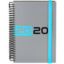 Collins Delta A5 2020 Day to Page with Appointments Diary - Blue