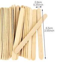 50pcs Wood Craft Sticks Ice Cream Sticks Kids DIY Hand Crafts Tools