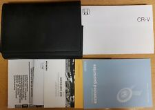 HONDA CR-V Manuale Proprietari Manuale Wallet 2006-2009 CONF. B-296!