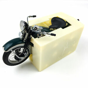 Franklin Mint 1936 Harley Davidson EL The First Knucklehead 1:10 Motorcycle
