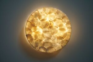 Wandlampe Capiz-Muscheln / Morgenland Möbel & Accessoires