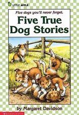 Five True Dog Stories by Margaret Davidson (1989, Paperback)