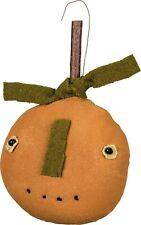 PBK Primitive Halloween Fall  Pumpkin Head Ornament