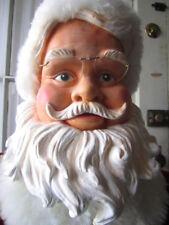 "RARE Gemmy Life Size 50"" Animated Singing Dancing Christmas Santa in Orig. Box!"