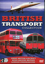 BRITISH TRANSPORT COLLECTION - 3 DVD BOX SET - STORY LONDON UNDERGROUND & MORE
