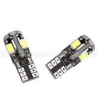 VW Polo 9N 01-09 Bright Canbus LED Side Light 501 W5W T10 8 SMD White Bulbs