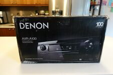MINT Denon AVR-A100 100th Anniversary Home Theater Receiver Boxed w Manuals