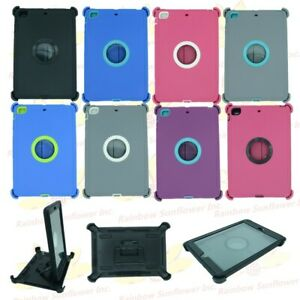 For iPad Mini 1/2/3 Defender Case with Screen & (Stand Holder fits Otterbox)