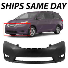 NEW Primered - Front Bumper Fascia Replacement for 2011-2017 Toyota Sienna 11-17