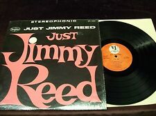 "JIMMY REED ""JUST..."" LP 1962 1ST PRESS STEREO IN SHRINK HOWLIN WOLF SLIM HARPO"