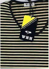 Gestreifte Damenblusen, - tops & -shirts aus Baumwollmischung in Größe 2XL