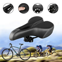 Bike Extra Comfort Big Bum Bicycle Gel Cruiser Sporty Soft Pad Wide Saddle Seat