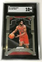 2019-20 Panini Prizm Coby White #253 Rookie RC SGC 10 Tougher than PSA, 4 Sure!