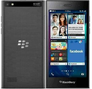 "⭐⭐ New Condition Blackberry Leap 5"" 16GB Shadow Grey Unlocked - Warranty"