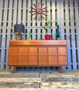 Compact McIntosh Teak Sideboard Vintage Retro Mid Century Cabinet