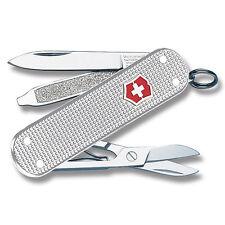 VICTORINOX CLASSIC SD SILVER ALOX SWISS ARMY KNIFE NEW