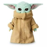 "12"" Baby Yoda The Mandalorian Force Awakens Master Stuffed Doll Plush Toy"
