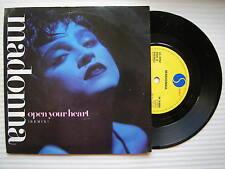 Madonna-Abre Tu Corazón/Lucky Star, Sire W-8480 Ex Estado