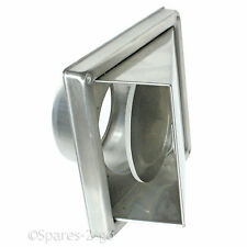 Stainless Steel Cooker Hood Extractor Outside Wall Air Vent Cowled Hood Outlet 6