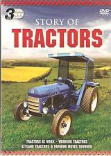 STORY OF TRACTORS - 3 DVD BOX SET - WORKING TRACTORS - LEYLAND & MORE
