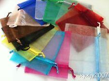 """30 Mixed Color 4 x 4.5""""Organza Gift Bag Pouch Wedding Favor"""