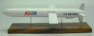 AGM-109 Cruise Missile General Dynamics Mahogany Kiln Wood Model Small New