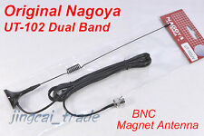 Original Nagoya UT-102 BNC Dual Band mobile CALAMITA ANTENNA YAESU ICOM MARANTZ