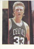 basketball sticker LARRY BIRD BOSTON CELTICS NBA  KOS EDITION 1989 Yugoslavia