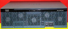 Cisco 3925 CISCO3925/K9 with C3900-SPE100/K9 Single AC Power Supplies 2xAvail