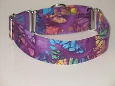 "1.5"" Martingale Dog Collar Purple Tie Dye"