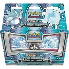 pokemon kit du dresseur soleil et lune sablaireau et feunard d'alola 60 cartes